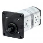 Pompe hydraulique double pour Case Ih JX