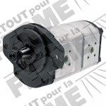 Pompe à double effet adaptable pour RENAULT