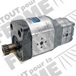 Pompe hydraulique double flux pour VALTRA-VALMET