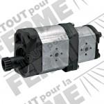Pompe hydraulique double BOSCH REXROTH pour VALTRA-VALMET