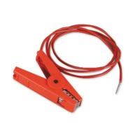 Jeu câbles terre/clôture à fiches (Rouge)