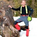 Pantalon forestier SUPER CONFORT avec protection anti-coupures