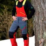 Salopette forestier SUPER CONFORT avec protection anti-coupures