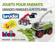 jouets et tracteurs miniatures