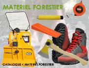 matériel et équipement forestier
