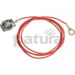 Patura Câble de raccordement clôtures à cordes - fiche 3 mm