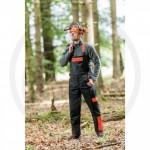 Salopette forestière avec protection anti-coupures