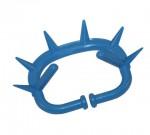 Anneaux anti-têteur avec moraillon bleu