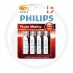 Philips Piles X 4 - 1,5 V, Mignon AA longue durée