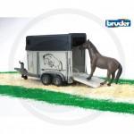 Bruder - Van pour chevaux 1 cheval inclus