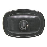 Rétroviseur sans dégivrage, noir, 185 x 130 mm, pour Ø bras 10, 12, 13 mm