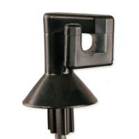 Patura Isolateur carré de rechange pour piquets acier ressort, ronds