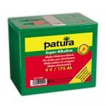 PATURA - Pile alcaline pour électrificateurs 9V/100Ah