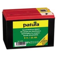 PATURA - Pile spéciale pour électrificateurs 9V/55Ah