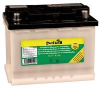 PATURA - Batterie spéciale 12 V / 80 Ah pouréletrificateurs sur batterie et installations solaires, préchargée à sec
