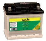 PATURA - Batterie standard 12 V / 45 Ah, pour électrificateurs livrée préchargée à sec