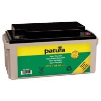 PATURA - Super batterie fixée AGM 12 V / 50 Ah, pour électrificateurs 12 V, tous positionnements