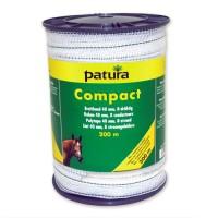 Patura Ruban COMPACT blanc-vert 40 mm - 200 m