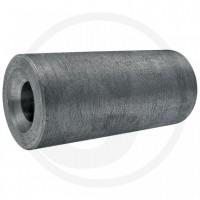 Douille 105 mm, à souder pour dents avec sécurité anti-torsions - Ø int. 21-34 mm