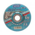 Disque à tronçonner - Blue Pro - métal - Ø 125