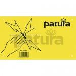 Patura Panneau avertisseur Attention cloture électrique
