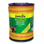 Patura Ruban STANDARD jaune-orange 10 mm - 250 m