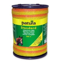 Patura Rubans STANDARD 2 rouleaux jaune-orange 10 mm - 200 m