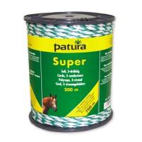 Corde PATURA Super blanc-vert 40 mm - 200 m