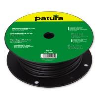 Patura Câble doublement isolé haute tension - 1,6 mm x 50 m