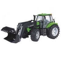 Bruder - Tracteur Deutz Agrotron X720 avec chargeur frontal