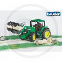 Bruder - Tracteur John Deere 6920 avec chargeur frontal