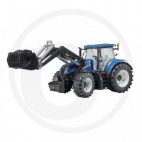Bruder - Tracteur avec chargeur frontal New Holland T7.315