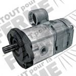 Pompe hydraulique BOSCH double flux MASSEY Ferguson serie 4200/4300
