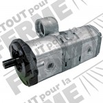 Pompe hydraulique BOSCH REXROTH double effet MASSEY Ferguson