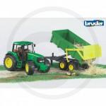 Bruder - Tracteur John Deere 6920 avec benne basculante
