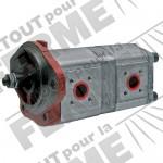 Pompe hydraulique double RENAULT - à partir du N° de série 90943: