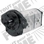 Pompe hydraulique à double effet adaptable pour RENAULT