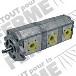 Pompe hydraulique triple tracteurs RENAULT