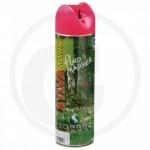 Rose fluorescent Bombe aérosol forestière 500 ml - Soppec Fluo Marker