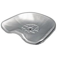 Siège cuvette en acier avec fixation centrale 440 mm