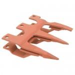Guide de triple doigts SCHUMACHER - 14 mm