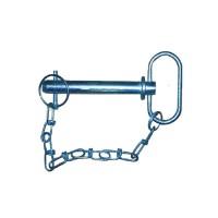 Axe avec poignée et chaînette - L=122 - Ø 19