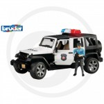 BRUDER - Jeep WRANGLER Unlimited Rubicon police avec policier