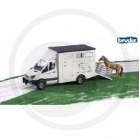 Bruder - MERCEDES Sprinter VAN à chevaux Ech116