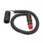 Adaptateur pour câble spiralé - 6/24V