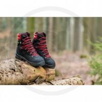 PROMOTION !! Chaussures de sécurité forestières Bottines avec protection anti-coupures FOREST TECH