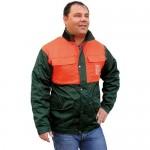 Veste forestière avec protection anti-coupures