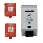 Kit cartouche Gel Pro 2x4L plus le distributeur MELGAD
