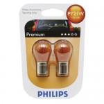 Ampoules Philips Premium T4W - 12V 5W (avec culot en verre)