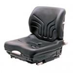 GRAMMER Siège MSG 20 standard pour chariot élévateur revêtement en similicuir, noir,  sans ceinture de sécurité
